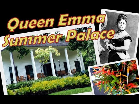 Queen Emma Summer Palace || Oahu, Hawaii