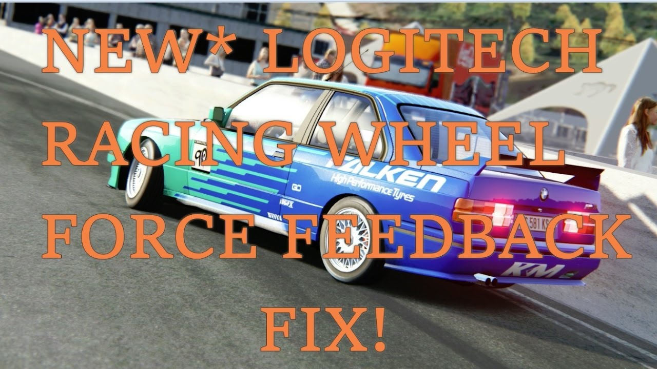 LOGITECH G920/G29 ASSETTO CORSA FORCE FEEDBACK FIX NEW
