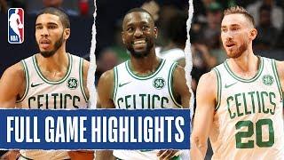 Celtics At Hornets   Full Game Highlights   November 7, 2019