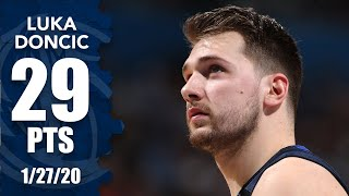 Luka Doncic wears Kobe Vs as he drops 29 points in Mavericks vs. Thunder | 2019-20 NBA Highlights