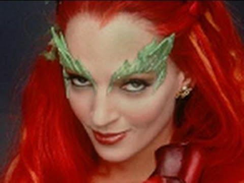 halloween makeup tutorial poison ivy youtube