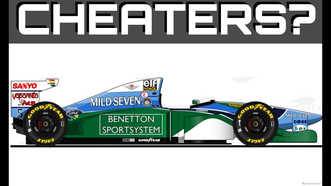 FORMULA ONE'S BIGGEST CONTROVERSY! The Full Story of the 1994 Benetton Cheating Controversy