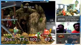 jsb10 melee doubles abcool holy warrior p3 p4 vs shin dawong p1 p2 losers round 1
