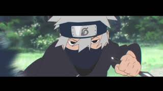 obito and kakashi, blood water