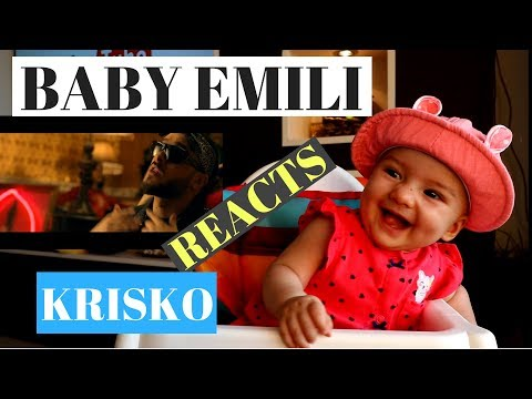 Krisko and Slavi Trifonov - GLedai kak se pravi | BABY EMILI REACTION