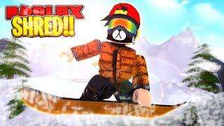 ROBLOX - SNOWBOARDING SIMULATOR!!!