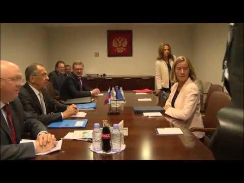 С.В.Лавров и Ф.Могерини | Sergey Lavrov & Frederica Mogherini