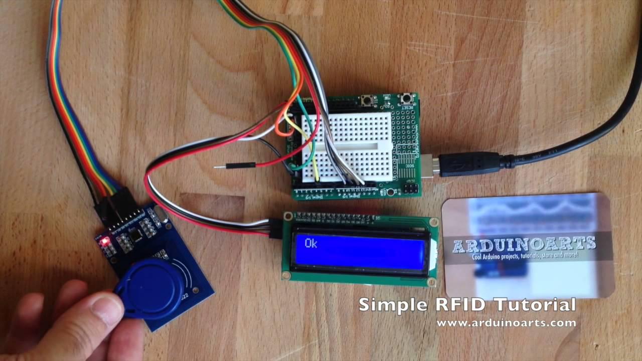 Arduino tutorial simple rfid lcd alarm youtube