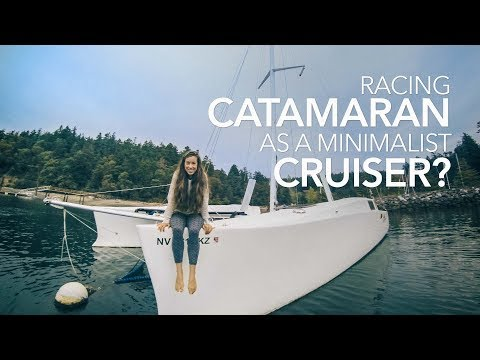 Racing Catamaran as a Minimalist Liveaboard? | Sailing Soulianis - Ep. 3