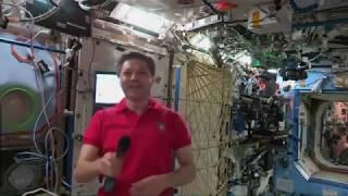 Космонавт МКС вышел с орбиты на связь с новосибирцами