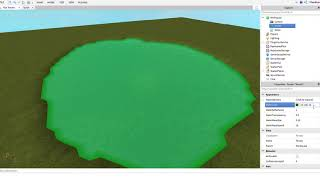 How to script change water color in Roblox