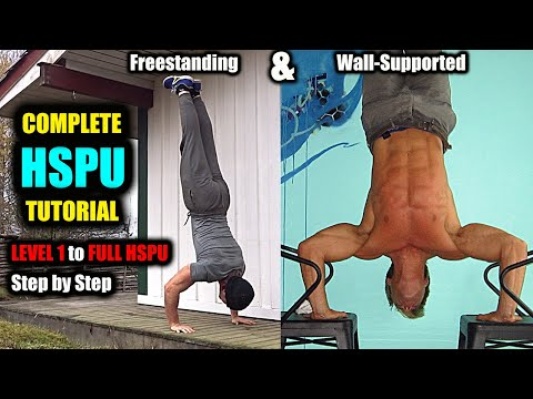 Handstand Push Up Tutorial (HSPU) Progression Guide
