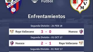Previa Huesca vs Rayo Vallecano - Jornada 4 - LaLiga Santander 2018 - Pronósticos y horarios