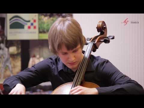 Adrien-François Servais: Caprice br. 2  - Jurica Mrčela, violončelo / Bistrički ZVUKOLIK 2015.