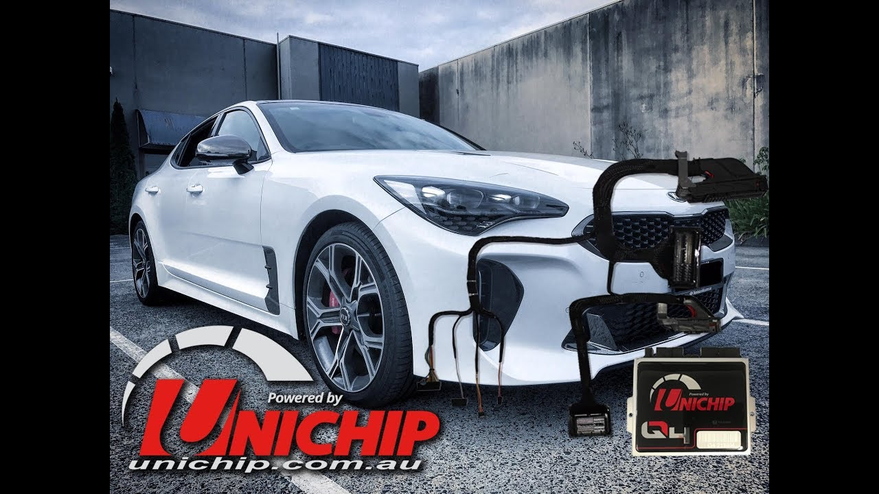 Unichip Dyno tune 3 3LT TWIN TURBO KIA STINGER GT - 2018 ONWARDS