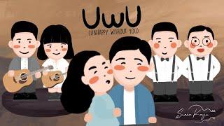 Download lagu Suara Kayu - UwU ( Unhappy Without U ) |  Official Lyrics Video
