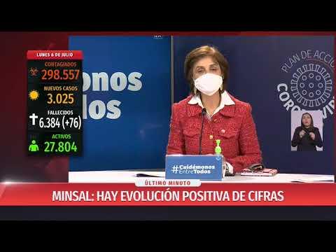 Chile se acerca a los 300 mil contagios y cifra de fallecidos se eleva a 6.384