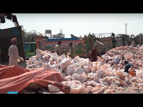 عمال المناجم يخاطرون لاستخراج الملح الصخري ذهب باكستان -الوردي-  - 13:01-2020 / 3 / 24