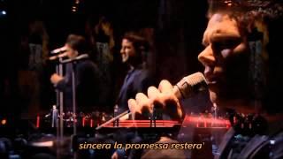 IL DIVO - La promessa with Lyrics, Live in Barcelona