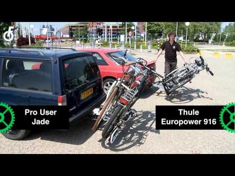 TestKees van de Fietsersbond test fietsendragers