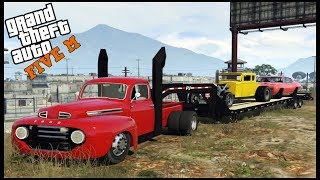 GTA 5 ROLEPLAY - HAULING CARS TO NEW CAR CLUB HOUSE (OVER BOOSTIN) - EP. 653 - CIV