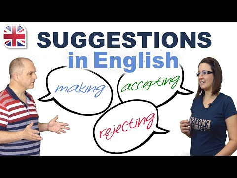 Making Suggestions in English - Spoken English Lesson