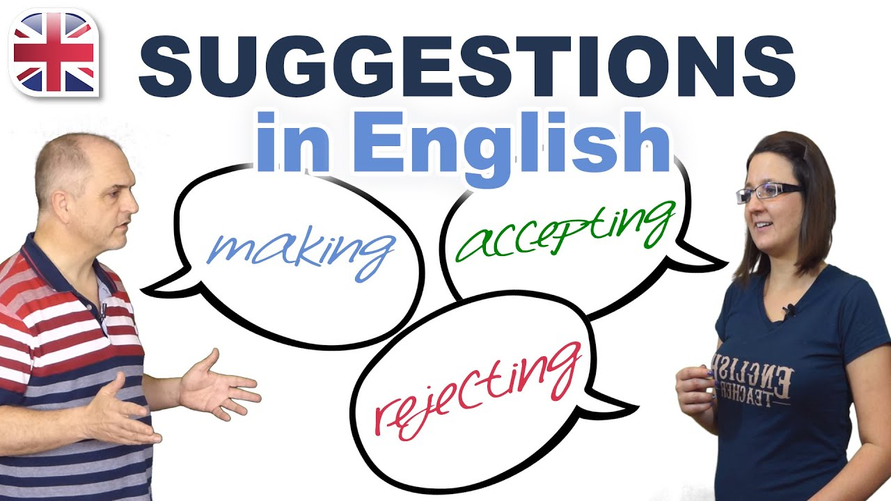 Download Making Suggestions in English - Spoken English Lesson
