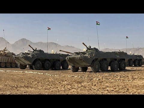 Россия передала Таджикистану РЛС и боевые машины