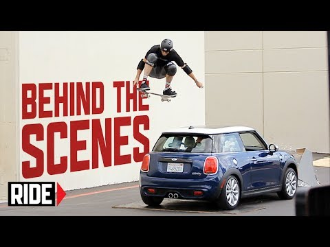 Tony Hawk Jumps Moving MINI Hardtop - Behind The Scenes