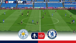 Leicester City Vs Chelsea | Fa Cup 2020 Quarter Final