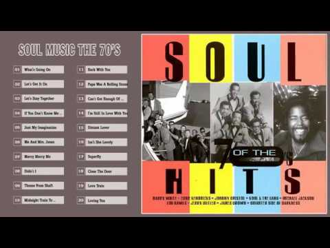 Soul Music Greatest Hits  -  Best Soul Music The 70's   | HD/HQ