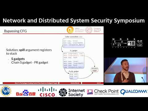 NDSS 2018 Back To The Epilogue: Evading Control Flow Guard via Unaligned Targets