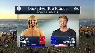 2015 Quik Pro France: R3, H12 Recap
