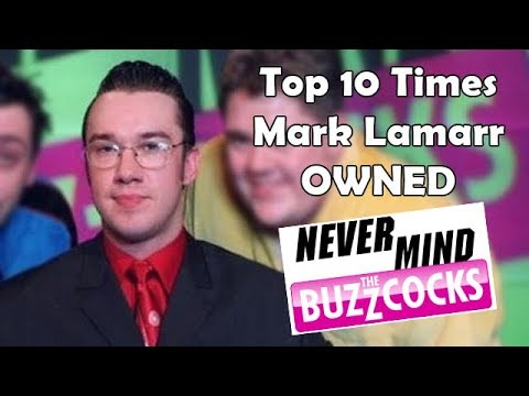 "Top 10 Times Mark Lamarr Owned ""Never Mind The Buzzcocks"""