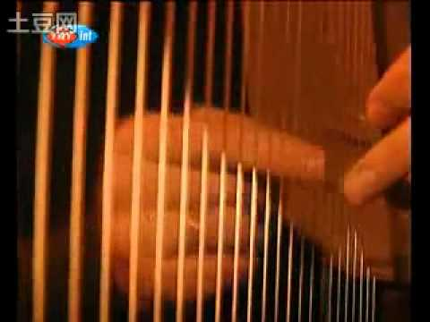 Turkish çeng (Ottoman harp) player/maker Fikret Karakaya - profile from Turkish television