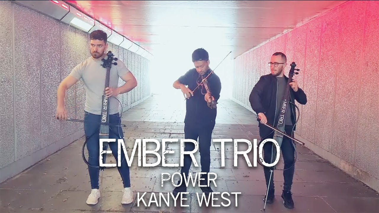 Power - Kanye West Violin Cello Cover Ember Trio