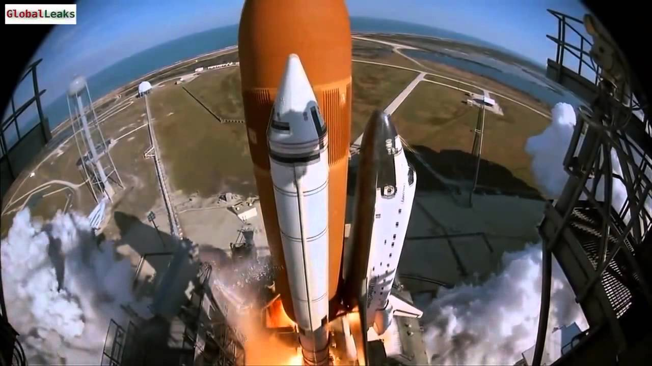 Space Shuttle Launch, from an amazing perspective 2014 ...