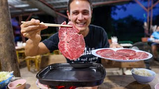 Eating the KOBE BEEF of Thailand  Is It That Good??  Street Food Steakhouse!