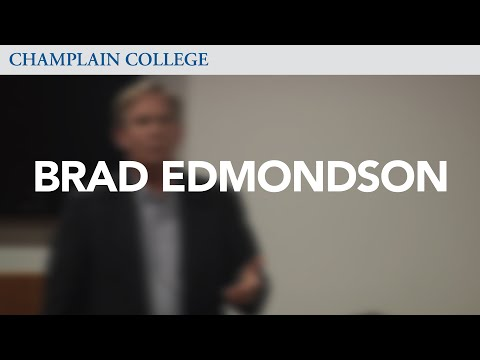 Brad Edmondson: Speaking from Experience