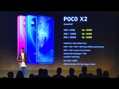 Poco X2 Launch Event In 12 Minutes
