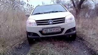 прогулочный offroad-test GEELY MK CROSS