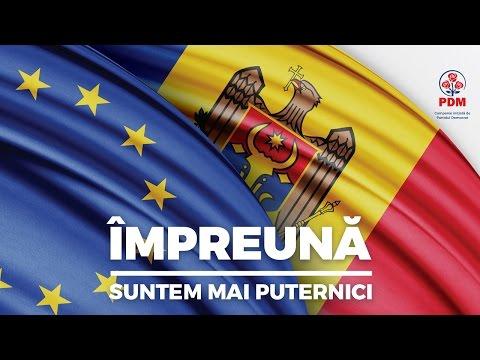 Partidul Democrat din Moldova - Împreună Suntem Mai Puternici