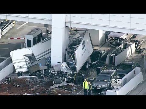 Toll Taker Killed In Horrific Early Morning Crash At Bay Bridge Toll Plaza