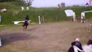 concours saut d'obstacle pour st cyr au chateau d'oléron
