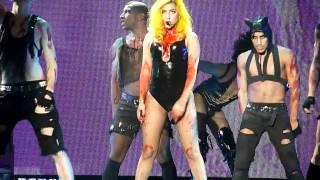Lady Gaga - Teeth [The Monster Ball @ Malmö Arena, 19/11, 2010] HD