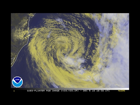 Subtropical Storm Eçaí (2016)