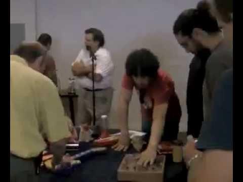 Circuit Bending and Louise Varèse at the LAVA Sunday Salon, May 2014