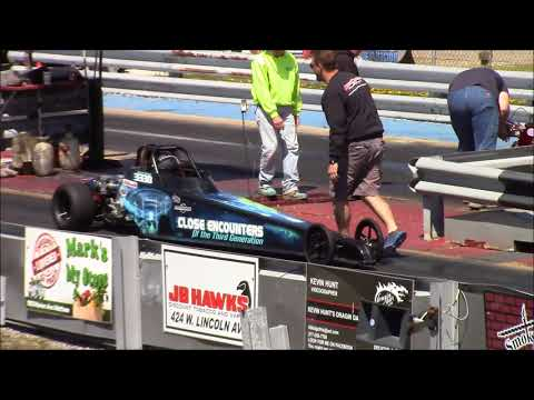 Jr dragsters Coles County Dragway 4-29-18