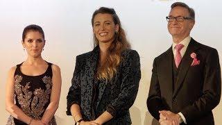 A simple favor Paris premiere - L'ombre d'Emily - Anna Kendrick, Blake Lively (18/09/2018)