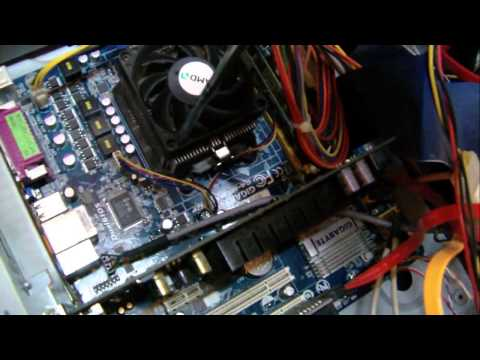 How to clean the dust in the computer case - Basic PC maintenance